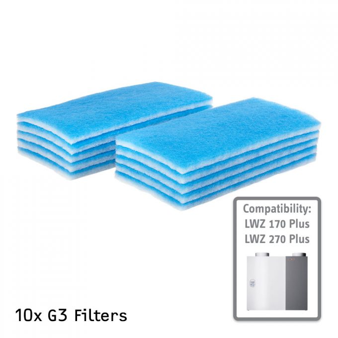 G3 Air Filter for STIEBEL ELTRON LWZ 170 Plus and 270 Plus