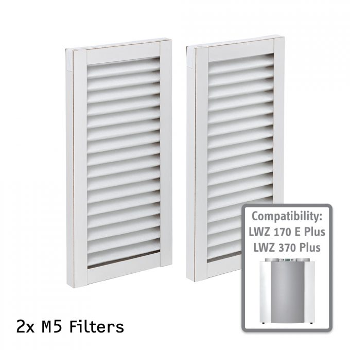 M5 Air Filter for STIEBEL ELTRON LWZ 170 E Plus and 370 Plus