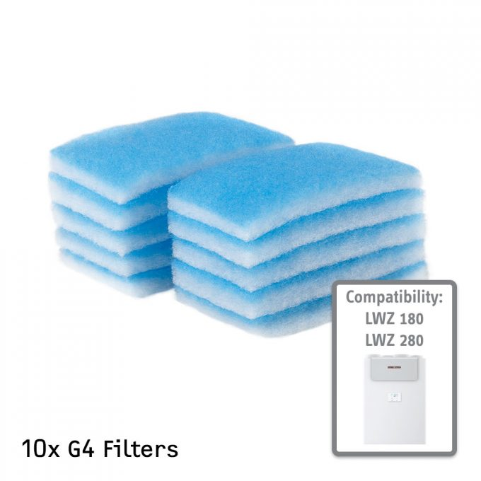 G4 Air Filter for STIEBEL ELTRON LWZ 180 and 280