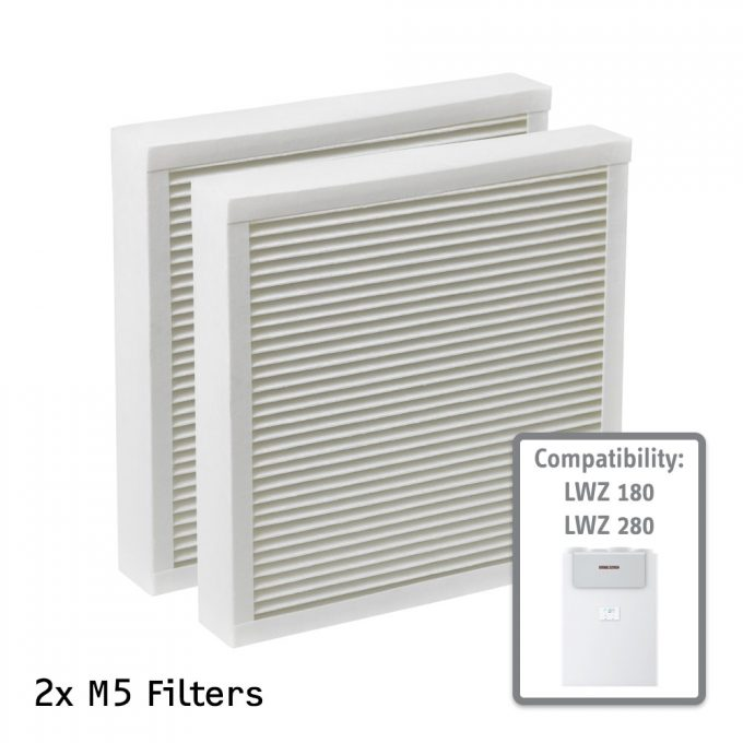 M5 Air Filter for STIEBEL ELTRON LWZ 180 and 280